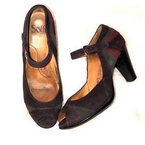Sofft Suede Mary Jane Pumps